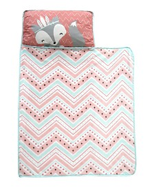 Lambs & Ivy Little Spirit Southwest Fox Toddler Nap Mat