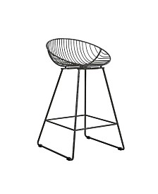 Pleasing Cosmoliving Ellis Wire Counter Stool Reviews Furniture Creativecarmelina Interior Chair Design Creativecarmelinacom