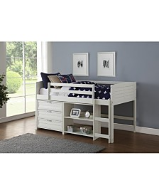Twin Low Loft Bed Group C