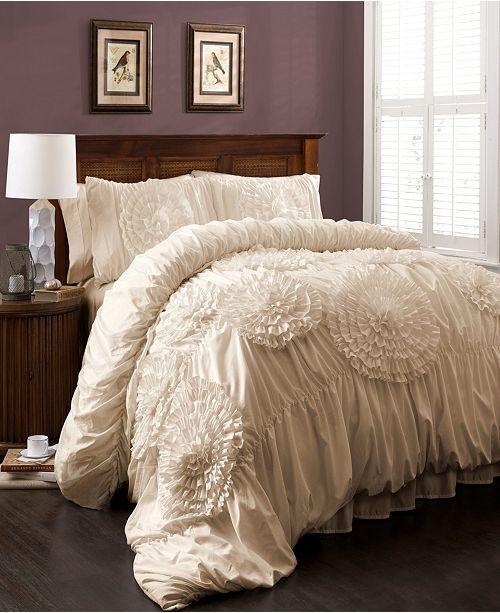 Lush Decor Serena 3Pc Full/Queen Comforter Set