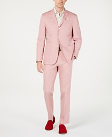 Tallia Men's Slim-Fit Pink Sport Coat & Pants