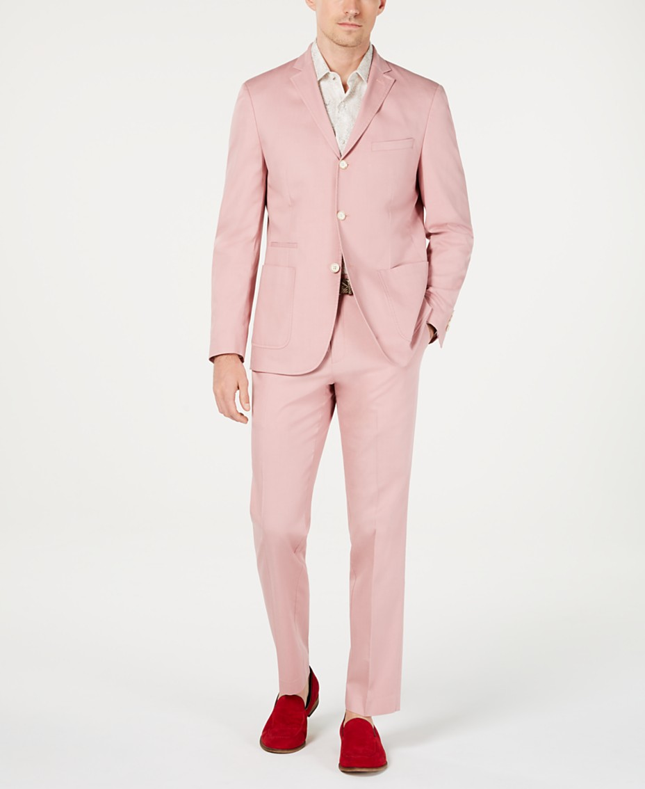 1d95e9ad8 Tallia Men's Slim-Fit Pink Sport Coat & Pants