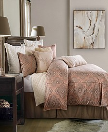 HiEnd Accents Sedona 3 Pc Queen Comforter Set