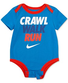 Nike Baby Boys Run Graphic Bodysuit