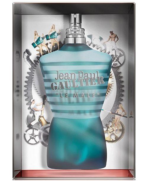 Jean Paul Gaultier Men's Le Male Eau de Toilette Jumbo Collector, 6.7-oz.