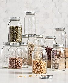 Vintage Quart Jars, 12-Pc. Set