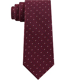Kenneth Cole Reaction Men's Mini Square Geo Slim Tie
