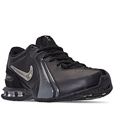 Nike Men's Reax Trainer III Synthetic Leather Training Sneakers from Finish Line