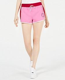 Colorblocked Drawstring Shorts