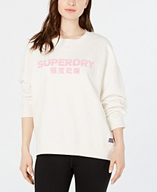 Freya Cotton Logo Sweatshirt