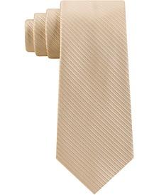 Men's Thin Stitched Tailored Stripe Tie