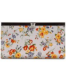 Cauchy Floral Print Wallet