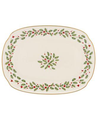 Holiday Oblong Platter