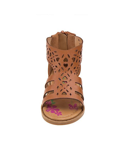 Petalia Every Step Ankle Strap Sandals