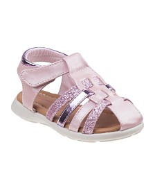 Laura Ashley's Every Step Closed Toe Sandals