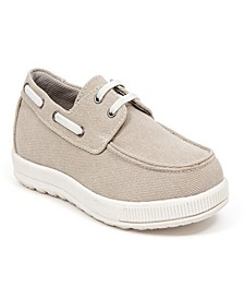 Little and Big Boys Evers Memory Foam Classic Moc Style Canvas Dress Comfort Casual Oxford