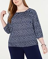 018449ec3 Michael Kors Plus Size Dresses   Clothing - Macy s