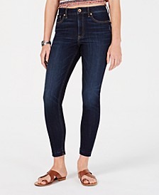 Juniors' Ripped Released-Hem Skinny Jeans, Created for Macy's