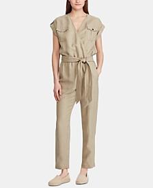 Lauren Ralph Lauren Petite Utility-Inspired Jumpsuit