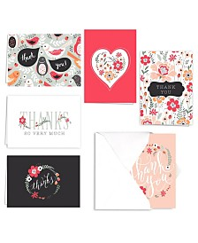 Floral Print Note Cards Assortment