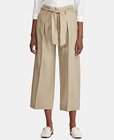 Lauren Ralph Lauren Petite Wide-Leg Pants