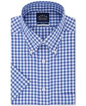 02720fbb73 Eagle Men's Classic/Regular Fit Button Down Non-Iron Stretch Short Sleeve  Dress Shirt