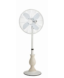 Charlotte Floor Fan- Adjustable Height