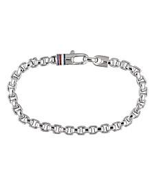 Tommy Hilfiger Men's Stainless Steel Link Chain Bracelet
