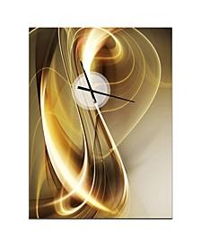 Designart Oversized Modern Metal Wall Clock
