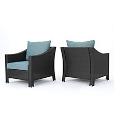 Antibes Outdoor Club Chair (Set of 2), Quick Ship