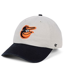 '47 Brand Baltimore Orioles Gray 2-Tone CLEAN UP Cap