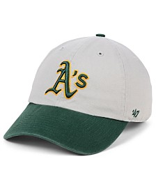 '47 Brand Oakland Athletics Gray 2-Tone CLEAN UP Cap