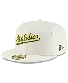 New Era Oakland Athletics Vintage World Series Patch 59FIFTY Cap