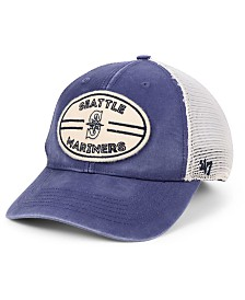 '47 Brand Seattle Mariners Hudson Patch Trucker MVP Cap