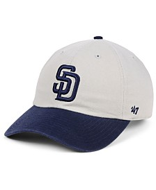'47 Brand San Diego Padres Gray 2-Tone CLEAN UP Cap