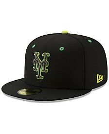 New Era New York Mets Night Moves 59FIFTY Fitted Cap