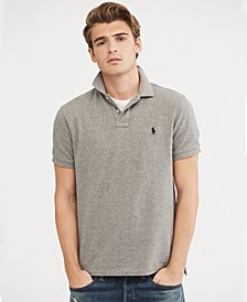Men's Big & Tall Classic-Fit Mesh Polo Shirt, Regular and Big & Tall