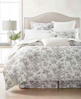 Classic Botanical Toile Queen Bedskirt, Created for Macy's