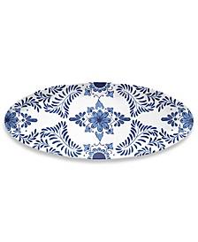 Cobalt Casita Oval Platter