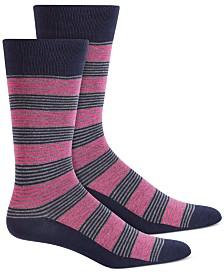Alfani Men's Feeder Stripe Socks, Created for Macy's