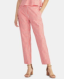RACHEL Rachel Roy Striped Seersucker Pants