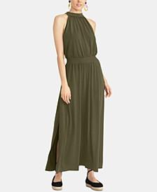 Avena Halter Maxi Dress