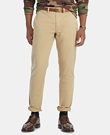 Polo Ralph Lauren Men's Slim Fit Stretch Twill Pants