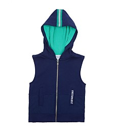 Hooded Vest with Sport Mesh