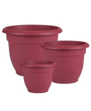 Bloem Ariana Set of 3 Self Watering Planter