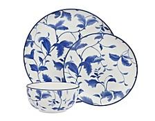 Arleigh 12-Pc Porcelain Dinnerware Set, Service for 4