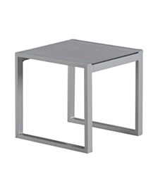 Elle Decor Tropez Outdoor Side Table, Quick Ship
