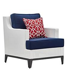 Hampton Outdoor Mesh Chair with Cushions