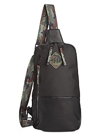 Steve Madden Men's Printed Sling Pack
