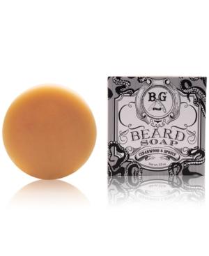 Brooklyn Grooming Cedarwood & Spruce Beard Soap, 3.5-oz.